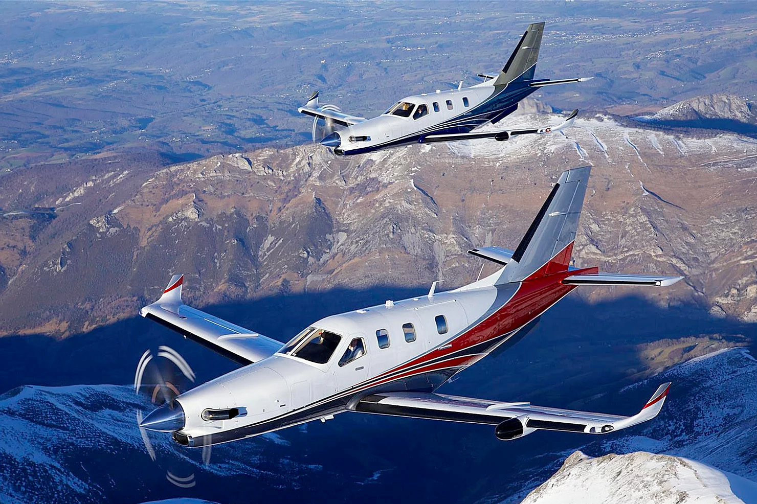 Turboprop - Piston engined aircraft - Partn'Air